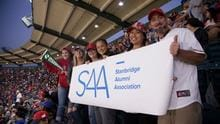 The Stanbridge Alumni Association rallied alumni and students to enjoy a night of baseball and cheer on the Angels vs. Dodgers in Anaheim.