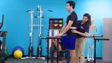 PTA students learn how to help patients regain mobility, balance, and stability in the Therapy Skills Labs on campus.