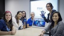 Hands-on demonstrations of emerging rehabilitation technology like Flint Rehabilitations MusicGlove™ lets students learn new and creative ways to treat clients.